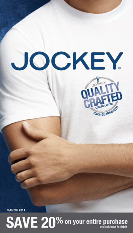 Jockey March 2014 Catalog