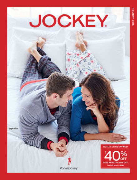 Jockey Holiday 2015 Retail Catalog